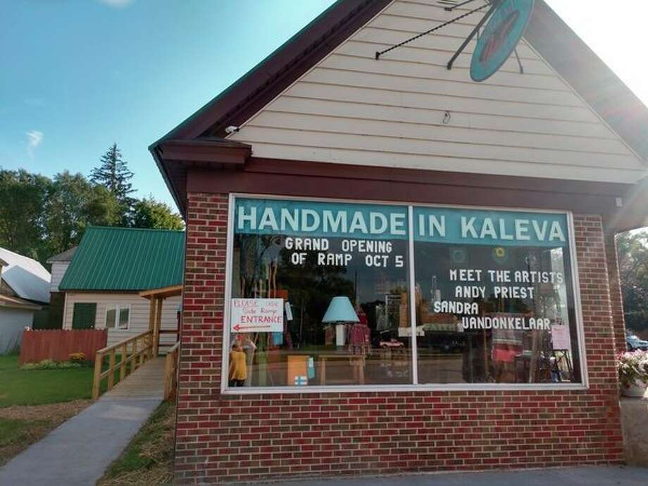 Kaleva Art Gallery will host an open house on Saturday to celebrate the construction of their new universally accessible entrance. Artists Andy Priest and Sandra Vandonkelaar will be featured. (Courtesy Photo)