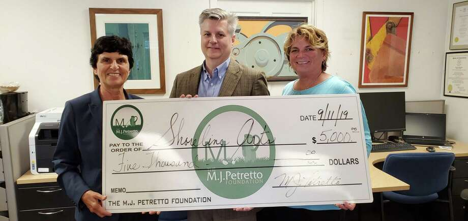 Shoreline Arts Alliance has received a generous $5,000 grant from the MJ Petretto Foundation. The funding will help Shoreline Arts Alliance expandits summer leadership initiative program to students across the state of Connecticut. The MJ Petretto Foundation is dedicated to helping nonprofit organizations on the Shoreline provide more services, programs, and support to the public. Each year the MJ Petretto Foundation hosts an annual Golf Classic at the Clinton Country Club, this fundraising event helps support organizations and projects just like Shoreline Arts Alliance. Photo: Contributed Photo