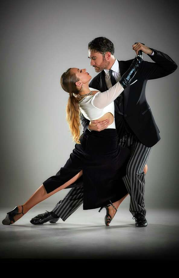 Argentine Tango dancers Guillermo Salvat and Miriam Lea will present their show at the Premier Ballroom's monthly event at the Holy Trinity Greek Church Community Center in Bridgeport on October 26. For reservations and further information, call 203-374-7308. Photo: Premier Ballroom / Contributed Photo