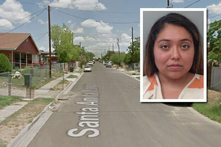 A woman was arrested for attempting to run over a group of teenage girls with her vehicle, according to Laredo police. Photo: Courtesy