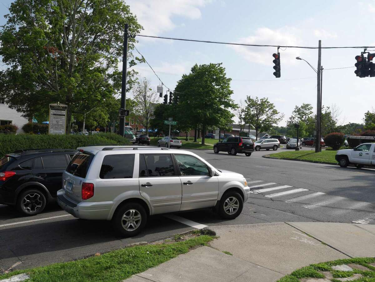 The intersection of Main Street and Prospect Street will be realigned in 2021.