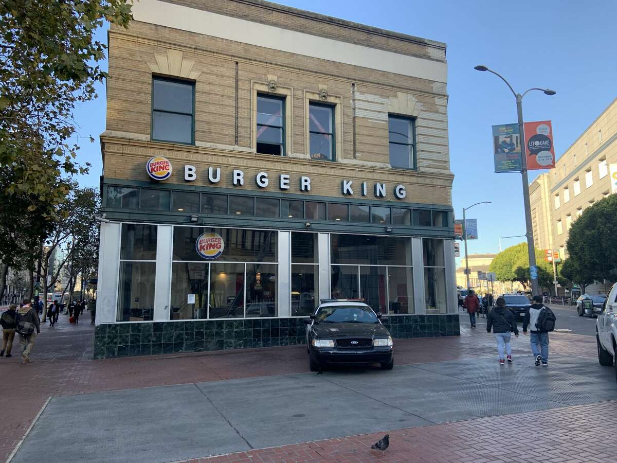 The Burger King at 1200 Market St. in San Francisco closed on Oct. 1, 2019.