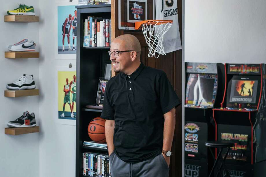 San Antonio native Shea Serrano returned there after years living in Houston, where he wrote the best-selling books The Rap Yearbook and Basketball (And Other Things). His third book was published in October 2019, Movies (And Other Things) Photo: Josh Huskin / www.joshhuskin.com