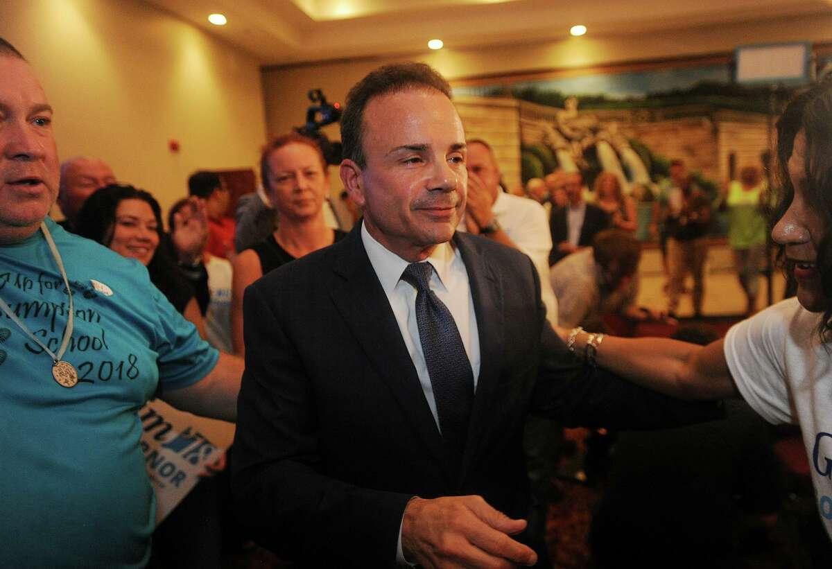 Bridgeport Mayor Joe Ganim won the Democratic mayoral primary by 270 votes.