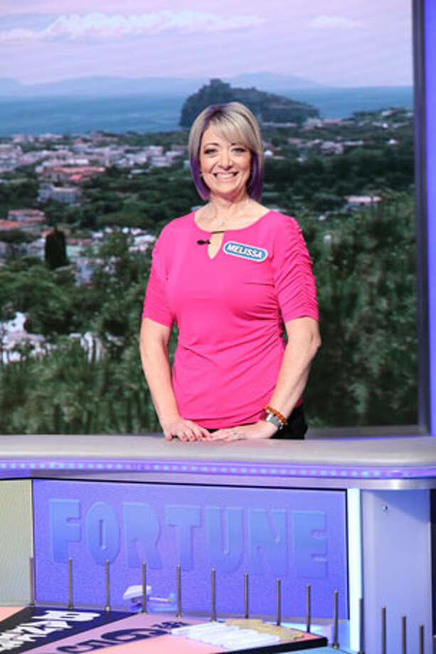 Melissa Grega of Troy will be a contestant on Wheel of Fortune airing Monday. Grega is a hairdresser who is married with two children. She says she enjoys golfing, traveling, being on the lake and spending time with her grandson. Photo: Carol Kaelson
