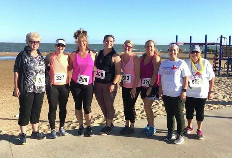 Eleven participants joined Sandy Shores Wellness Center instructor Maxine Rice in an attempt to reach the same goal: perform their personal best at their next 5K. (Submitted Photo)