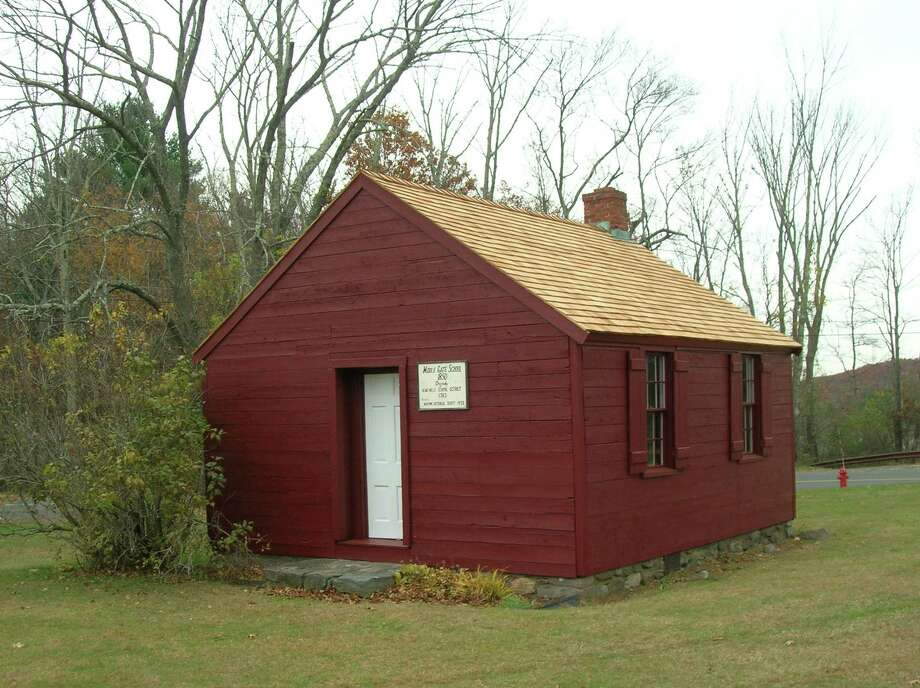 The Newtown Historical Society is hosting an Open House event at the Little Red Schoolhouse on October. 13 Photo: Newtown Historical Society / Contributed Photo