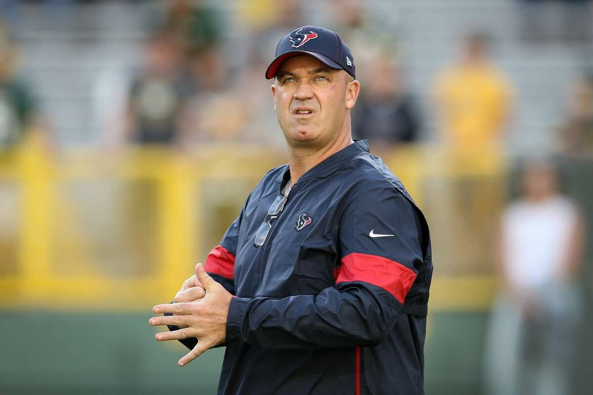 Bill O'Brien is on the hot seat this season. >>>See where the current Texans head coach ranks among the NFL head coaches most likely to be given the boot first this season, according to oddsmakers. (Photo by Dylan Buell/Getty Images)