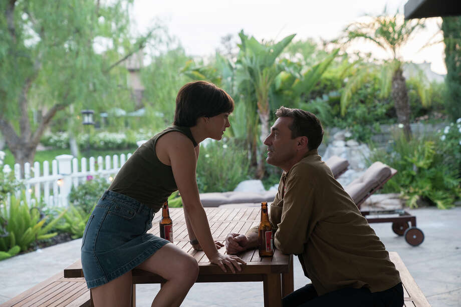 "Natalie Portman, left, and Jon Hamm in ""Lucy in the Sky."" MUST CREDT: Hilary Gayle/Fox Searchlight Pictures Photo: Hilary Gayle, Fox Searchlight Pictures /  © 2019 Twentieth Century Fox Film Corporation"