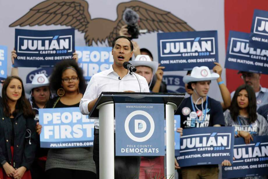 Former San Antonio Mayor and HUD Secretary Julián Castro has always worked hard, played by the rules and aced the quiz. He has contributed to the Democratic primary by leading on policy proposals. And yet he gets no respect. Photo: Joshua Lott /Getty Images / 2019 Getty Images