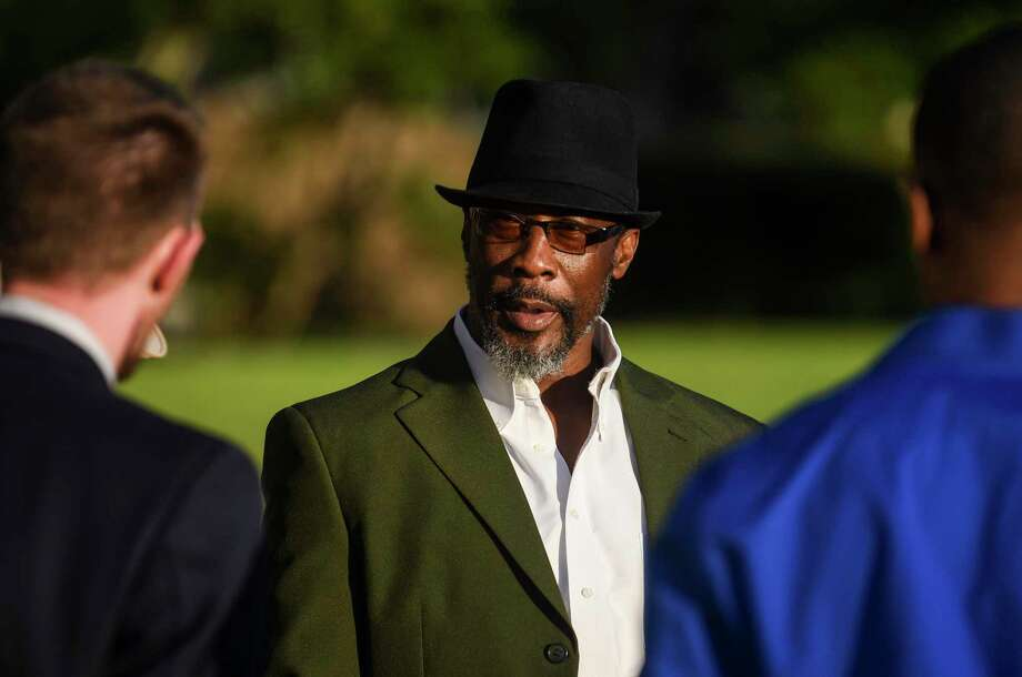 Calvin Walker walks out of the Jefferson County Courthouse Tuesday after sentencing in his trial. Photo taken on Tuesday, 10/01/19. Ryan Welch/The Enterprise Photo: Ryan Welch, Beaumont Enterprise / The Enterprise / © 2019 Beaumont Enterprise
