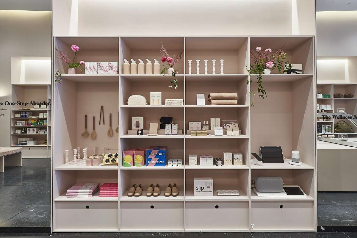 Goop GIFT popped up on Fillmore Street during holiday season 2018. A permanent Goop location will open nearby this November.
