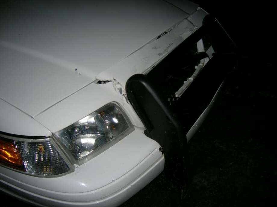 External damage to the patrol unit (Courtesy photo)