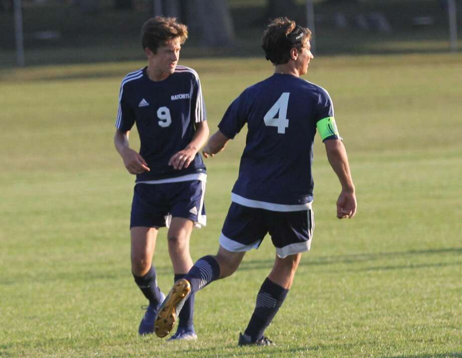 On Wednesday evening, the Bad Axe soccer squad traveled to Caro for a road matchup, one that saw the Hatchets register a 4-0 win. Photo: Mark Birdsall/Huron Daily Tribune, File