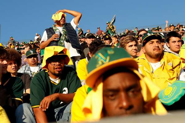 A's set record for biggest crowd at a wild-card game