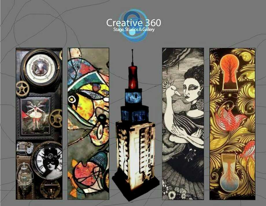 Friday, Oct. 4: Interesting Mix exhibit opening atCreative 360, 1517 Bayliss St., Midland.The work of Katie Balamucki, Ashley Clewley, Tom Larson, Roger Reichmann and Terry Summers is featured. (Photo provided/Creative 360)
