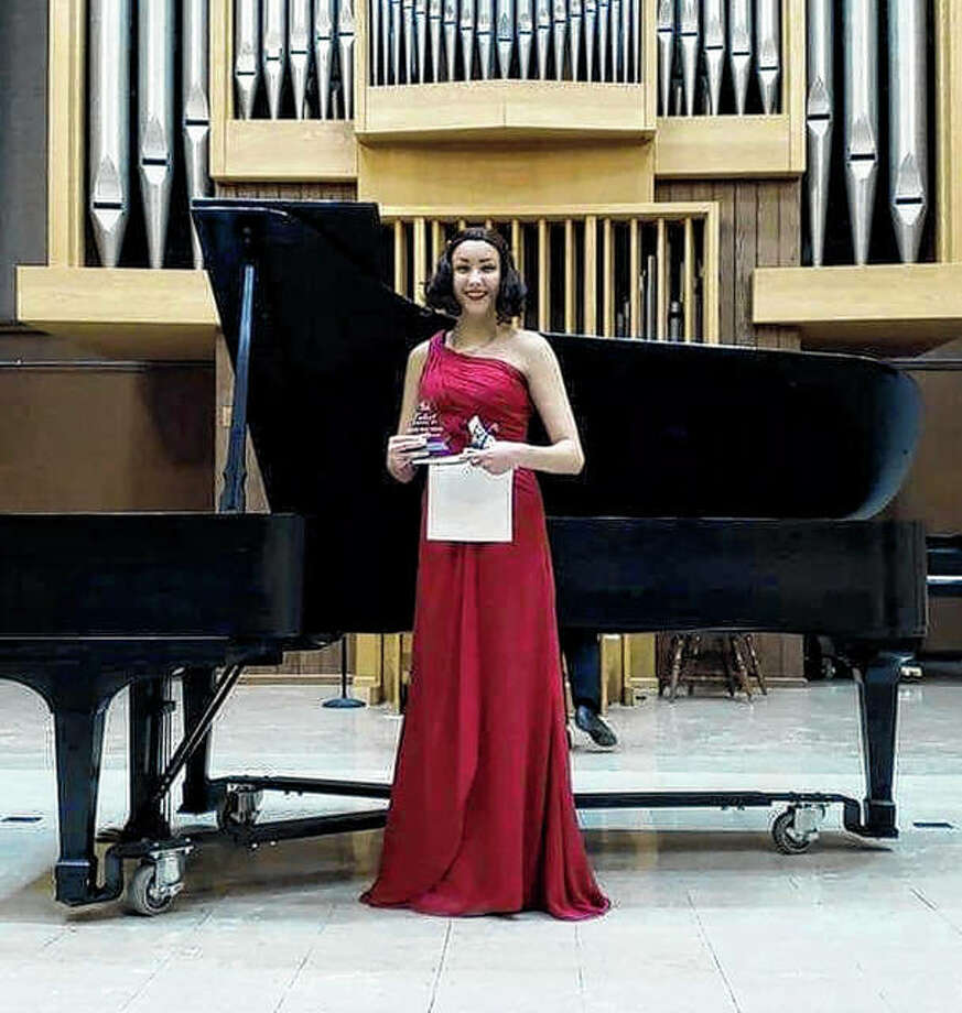 Soprano Claire Ryterski, the grand prize winner of the Jacksonville Symphony Orchestra's 2019 Talent Among Us competition, will be the guest soloist Saturday during the symphony's season-opening concert. Photo: Photo Provided