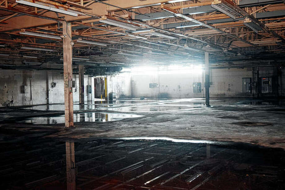 A look inside the former ACH building. While production has not occurred at the site in years, it once was one of the biggest employers in Jacksonville. The property is going up for auction today, eight years after its previous auction. Photo: Marco Cartolano | Journal-Courier