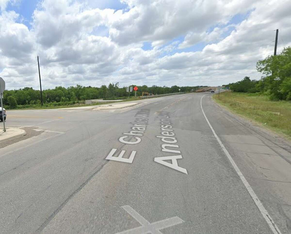 The incident that sparked the chase occurred when the man drove past the suspect on FM 1303 and was shot at, officials said.
