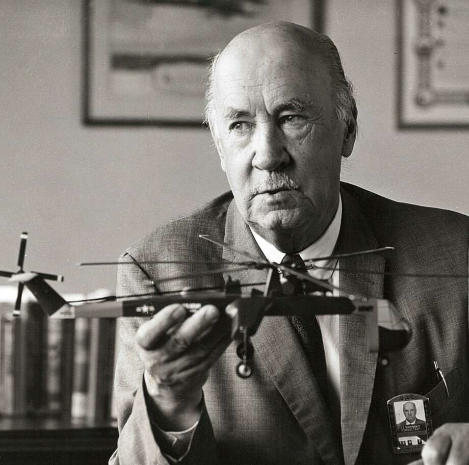 An undated file photo of Igor Sikorsky (1889-1972), the Russian born aviation pioneer and founder of Stratford based Sikorsky Aircraft. Photo: File Photo / Connecticut Post File Photo
