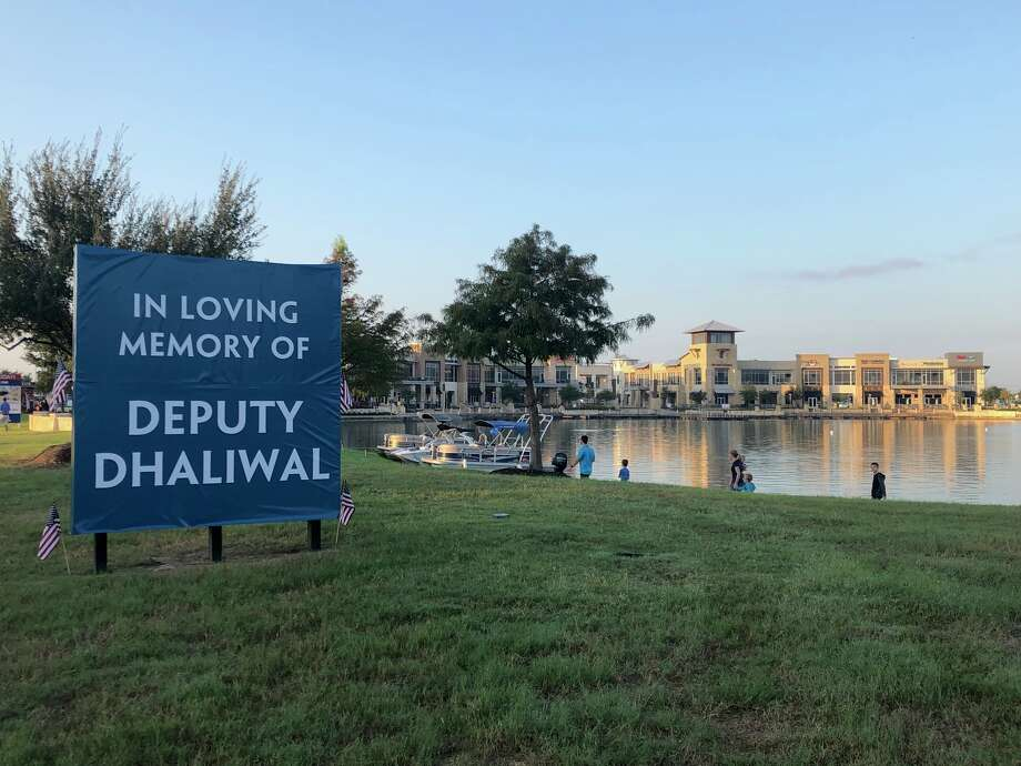 PHOTOS: Houston honors Deputy DhaliwalHarris County Deputy Sandeep Dhaliwal, 42 and a father of three, was shot and killed during a traffic stop in Cypress Sept. 27. Now several Cypress-area businesses are stepping up to help his family.>>>See more for scenes from the fallen deputy's funeral... Photo: Courtesy Caldwell Communities/Margot Ledet