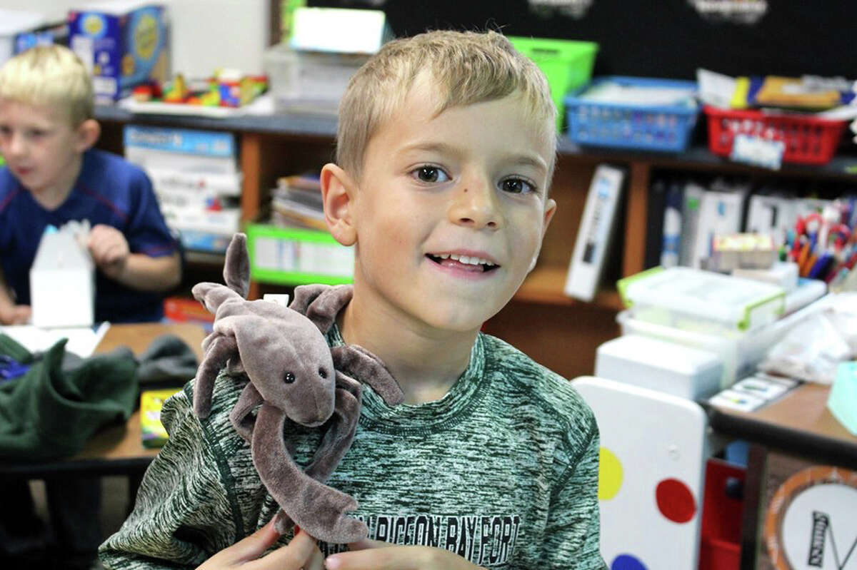 This week, Shannon Popham had her first grade students at Laker Elementary adopt Beanie Babies and as part of the adoption agreements, students must read to them for at least 20 minutes every day. Once all of the Beanie Babies were adopted, the class celebrated with cake.