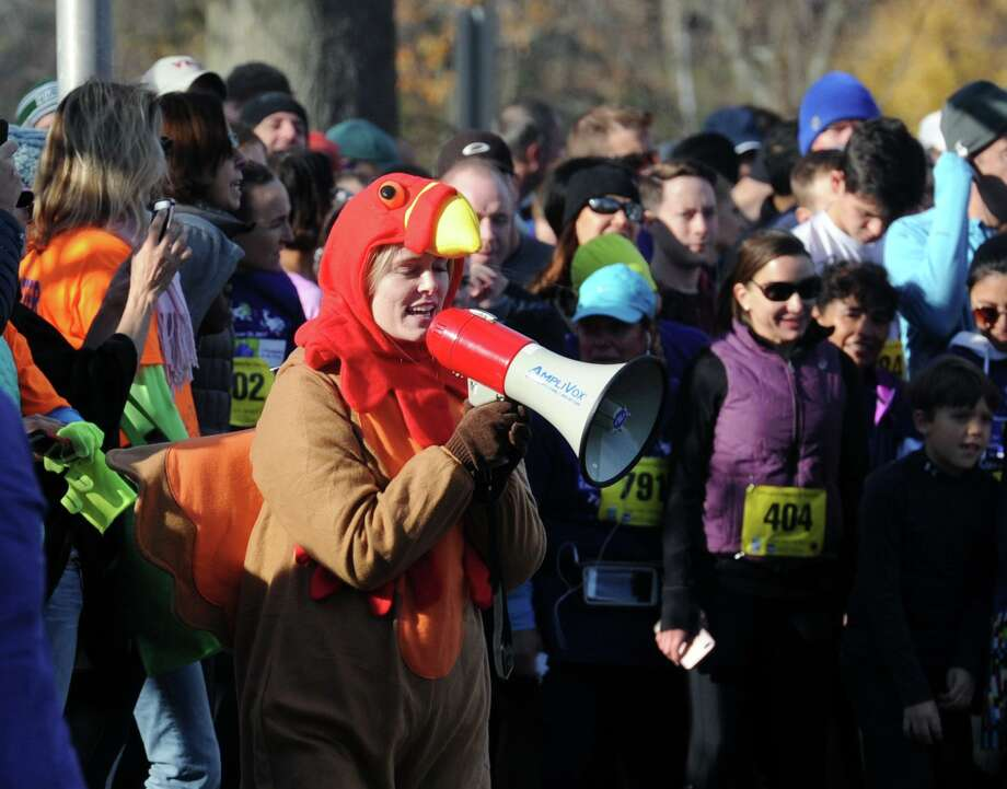 The Greenwich Alliance for Education Turkey Trot 5K & 1 Mile Walk/Run at Roger Sherman Baldwin Park in Greenwich, Conn., Saturday morning, Nov. 25, 2017. Photo: File / Hearst Connecticut Media / Greenwich Time