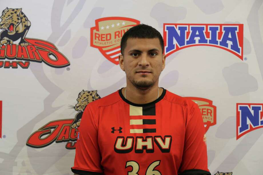 Katy graduate Adrian Mendoza has three goals and three assists as a senior at UH-Victoria, adding to his record-setting career numbers. The Jaguars were 10-0 for the first time in program history. Photo: UHV Athletics Communications / UHV Athletics Communications