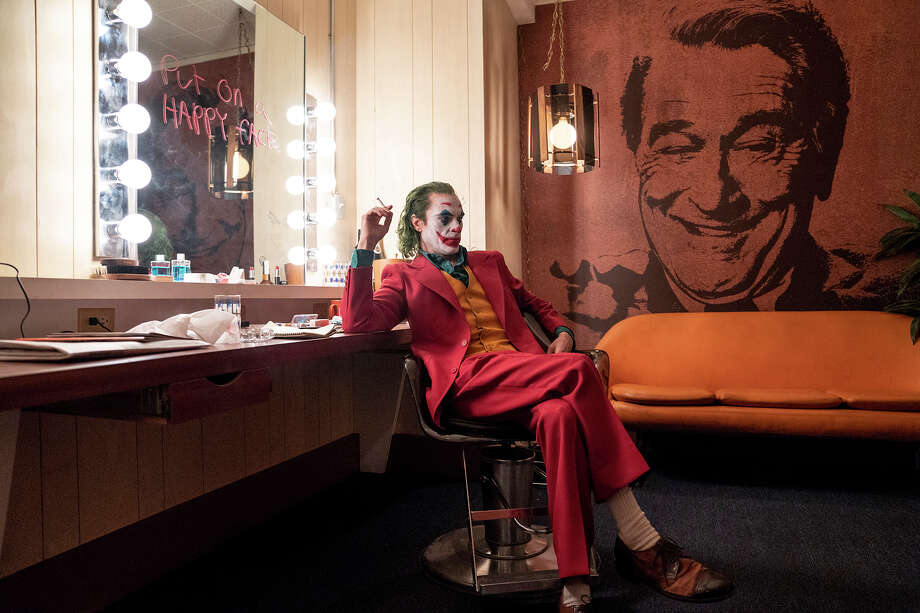 "Joaquin Phoenix as Arthur Fleck in ""Joker."" Photo: Niko Tavernise/Warner Bros. Pictures / © 2018 Warner Bros. Entertainment Inc."