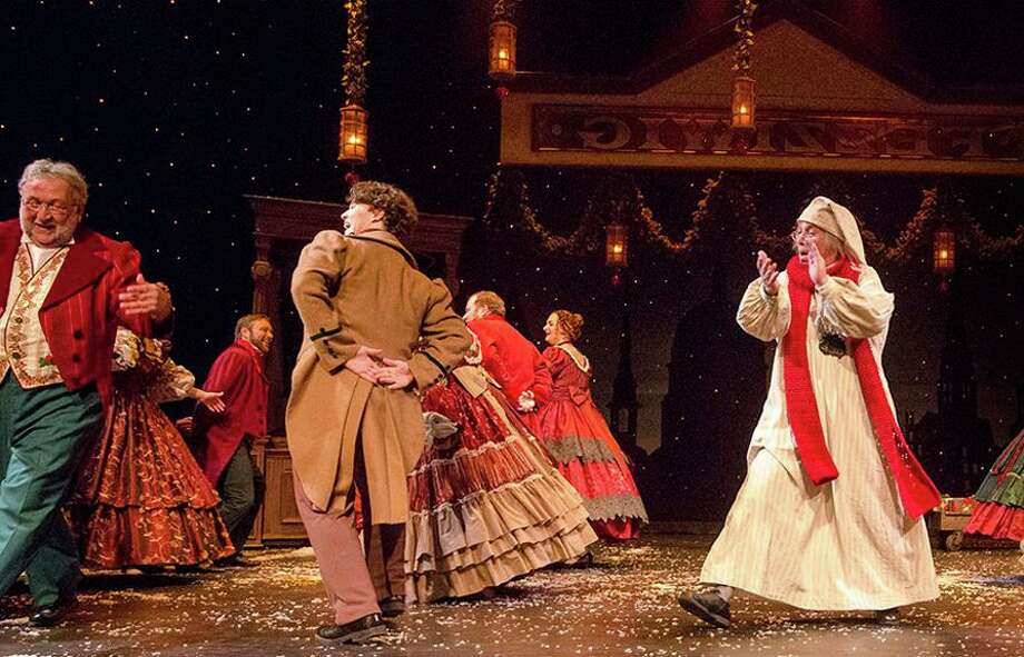 "The Nebraska Theatre Caravan production of ""A Christmas Carol"" is coming to The Palace Theatre in Stamford on December 13. Photo: Www.palacestamford.org"