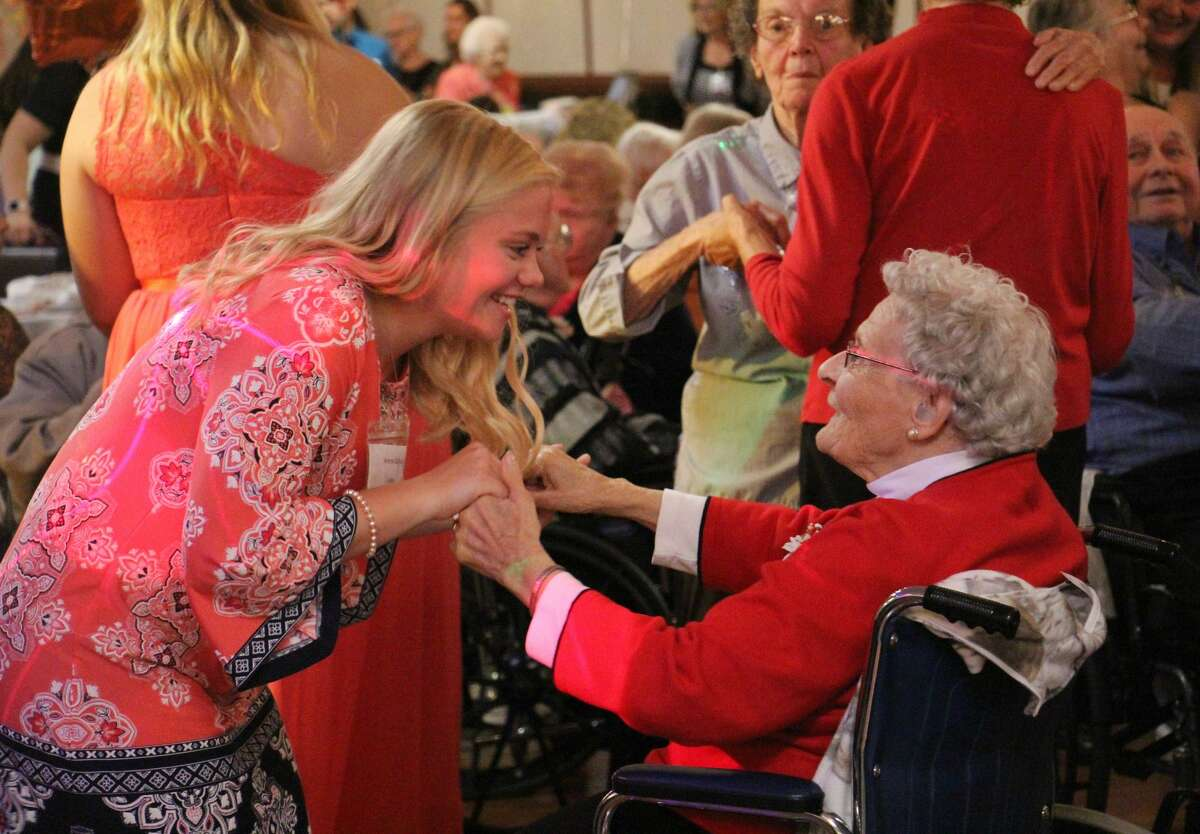 Senior citizens and area high schoolers put on their dancing shoes and enjoyed a fun afternoon during the annual Huron County Senior Ball on Thursday at the Franklin Inn. The heartwarming day featured a buffet lunch, a number of classic hits, and crownings for this year's awards.