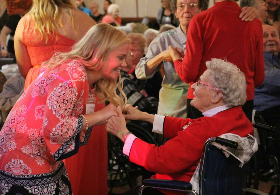 Senior citizens and area high schoolers put on their dancing shoes and enjoyed a fun afternoon during the annual Huron County Senior Ball on Thursday at the Franklin Inn. The heartwarming day featured a buffet lunch, a number of classic hits, and crownings for this year's awards. Photo: Bradley Massman/Huron Daily Tribune