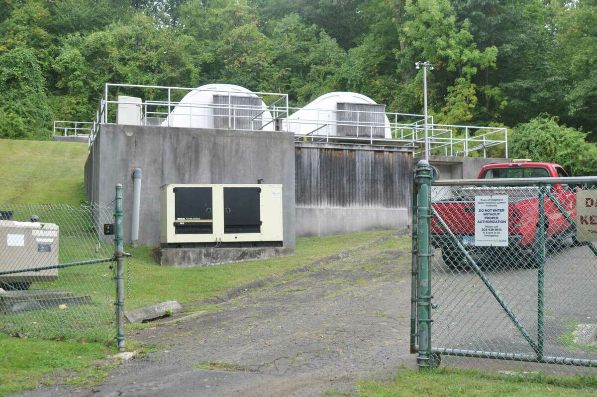 The District Two sewer plant, little seen behind the 901 Ethan Allen Highway property, will be mostly demolished under the town's plan, and a rebuilt pump station will send the area's wastewater to the District One sewer plant off South Street for treatment.