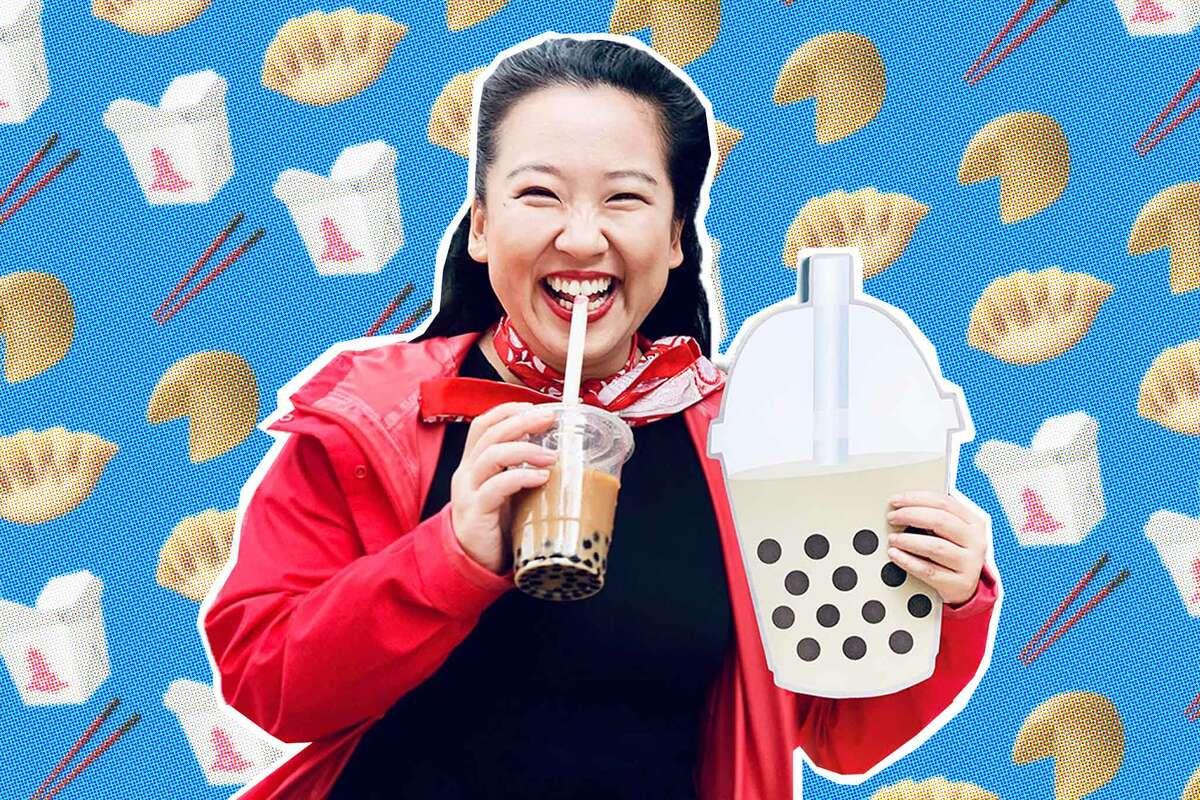 Yiying Lu, San Francisco based artist, who designed the Boba, the Dumpling