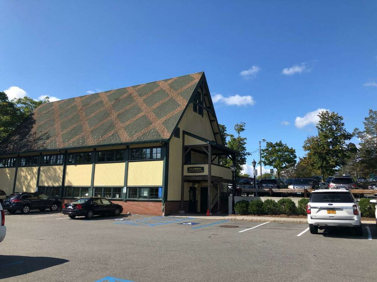 The New Canaan Department of Human Services is in the former Outback Building, and The Hub. More information about the town's Volunteer Shopper Program is also available there.