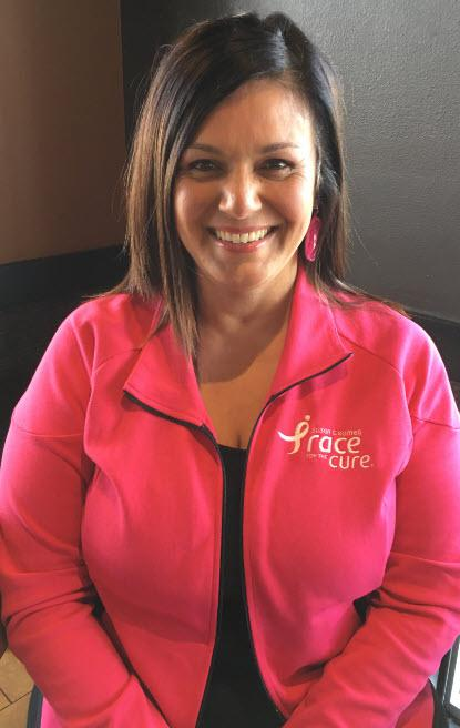 Breast cancer survivor spreads word about importance of self-exams
