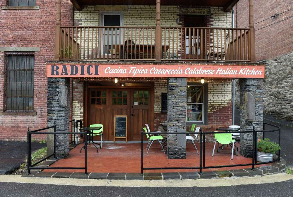 Exterior of Radici Italian Kitchen on Thursday, Sept. 26, 2019, in Catskill, N.Y. (Will Waldron/Times Union)