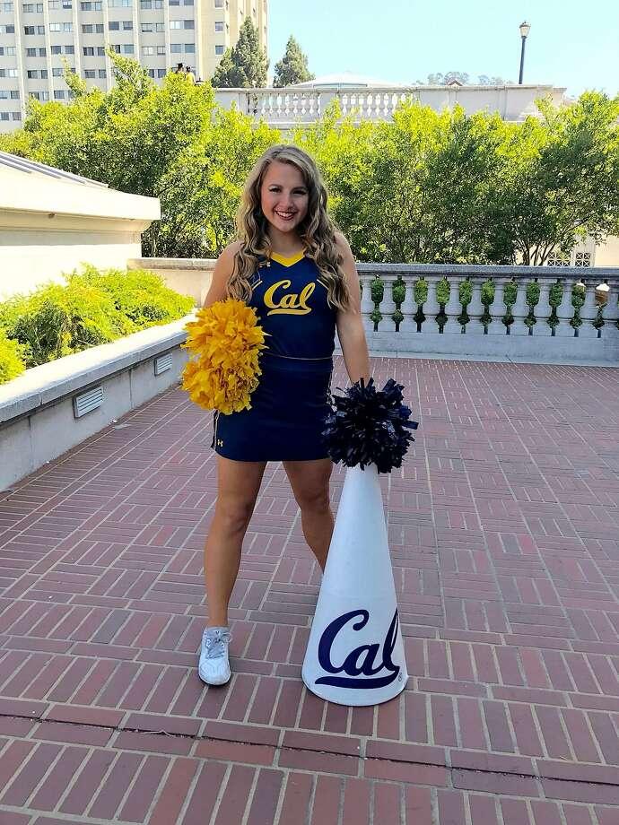 Melissa Martin, former UC Berkeley cheerleader. Photo: Matt Ha