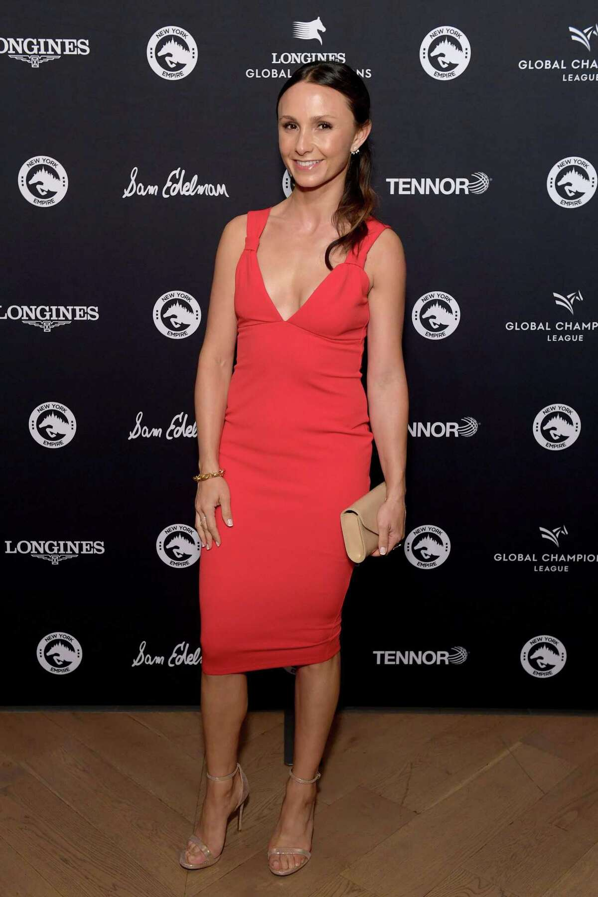 NEW YORK, NEW YORK - SEPT. 28: Georgina Bloomberg attends the Celebration of The Inaugural Longines Global Champions Tour Of New York with Georgina Bloomberg And The New York Empire GCL Team at Manhattan on Sept. 28, 2019 in New York City. Bloomberg will also be participating in a live question and answer interview series at the New Canaan Mounted Troop this Tuesday, Oct. 8, 2019 in New Canaan, Connecticut. (Photo by Ben Gabbe/Getty Images for New York Empire GCL Team )