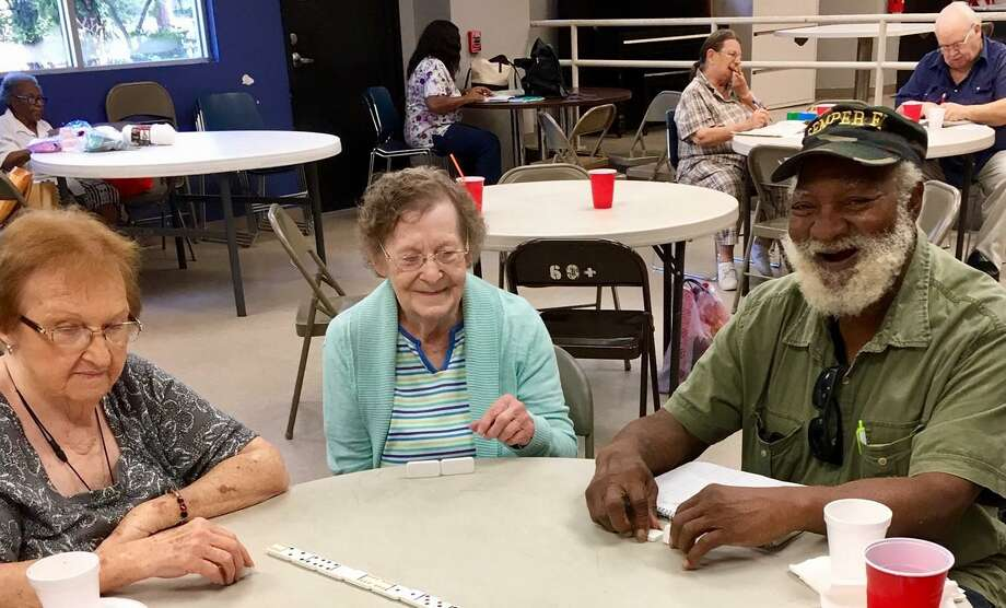 A group of older adults socialize at their local senior center. Photo: Courtesy Photo