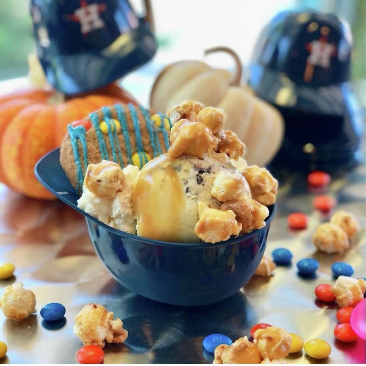 Sweet Bribery - 250 W. 19th St. During the entire month of October, guests can try Sweet Bribery's new treat dubbed the Championship Sundae, featuring an ice cream scoop of your choice, a house-made blue n' gold cookie, caramel sauce, fresh whipped cream and caramel kettle corn