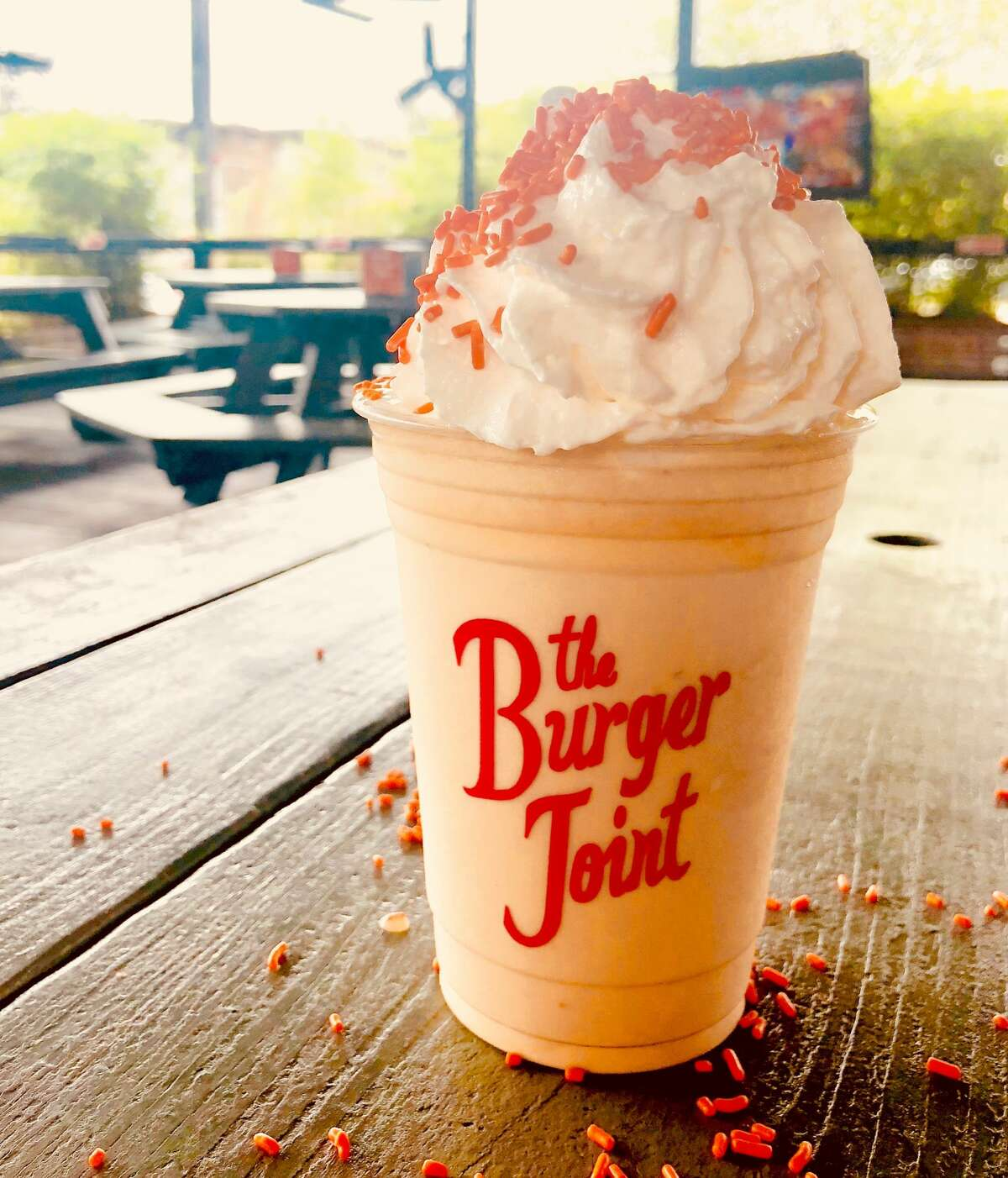 The Burger Joint - 2702 Montrose Blvd. For every Astros homer, The Burger Joint will give guests a voucher for a free milkshake. The restaurant will also have a new milkshake, the Crush City Dreamcsicle Shake