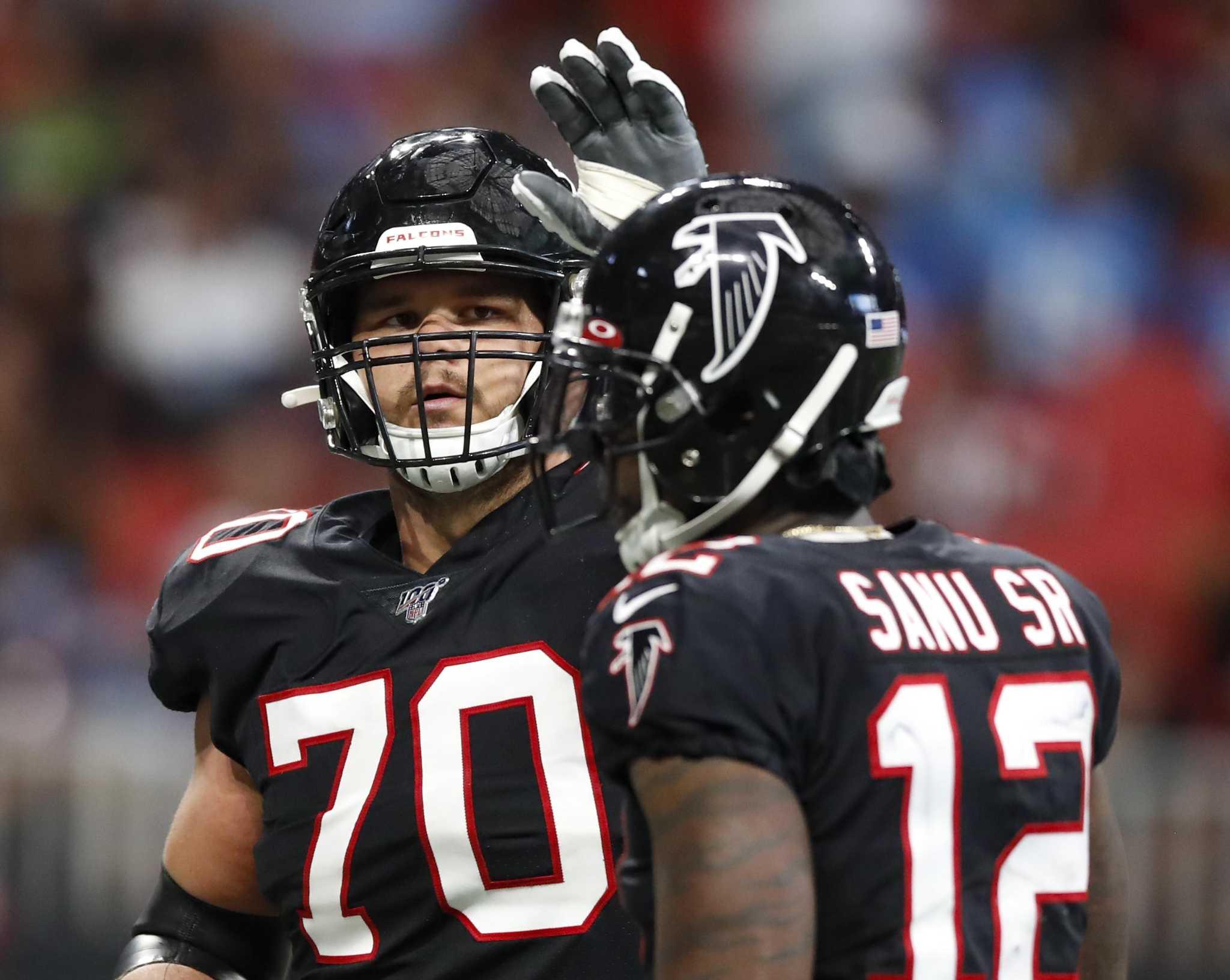 Atlanta Falcons left tackle Jake Matthews makes name for himself