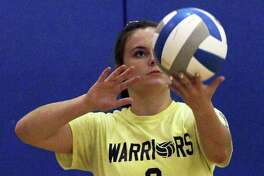 The North Huron volleyball team topped Genesee 25-14, 25-23, 25-13 at home Thursday night.
