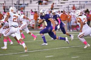Quarterback Luis Segura left with an ankle injury in LBJ's 27-3 loss at Del Rio on Friday.