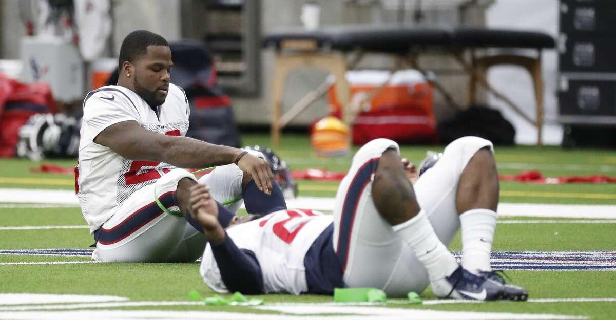 Carlos Hyde and Duke Johnson rebuilt the Texans' running game.