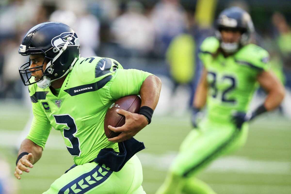 5. GIVE RUSSELL WILSON ENOUGH TIME IN POCKET TO TEST CLEVELAND'S SECONDARY There should be a bit of concern for the Seahawks with two offensive-line starters likely not to play and a key backup up front ruled out. Left tackle Duane Brown and right guard D.J. Fluker are doubtful to play against the Browns, while versatile offensive lineman Ethan Pocic was placed on Injured Reserve with a lingering mid-back injury. The depth issues have emerged at the wrong time: against a Cleveland team that has a defensive front seven led by one of the NFL's best pass rushers in Myles Garrett. George Fant and Jamarco Jones are expected to start for Seattle at left tackle and right guard, respectively. But can Fant get the job done? And can Jones deliver like he did against Aaron Donald and the Rams in Week 5? The Seahawks' passing offense, and their rushing attack, could depend on it. With pass-protection concerns, Seattle may need to resort to the quick-passing scheme that has worked wonders in spurts, particularly against the Steelers in Week 2.
