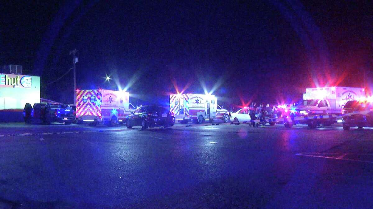 One man is dead and two more hospitalized after a triple shooting at the River City Saloon.