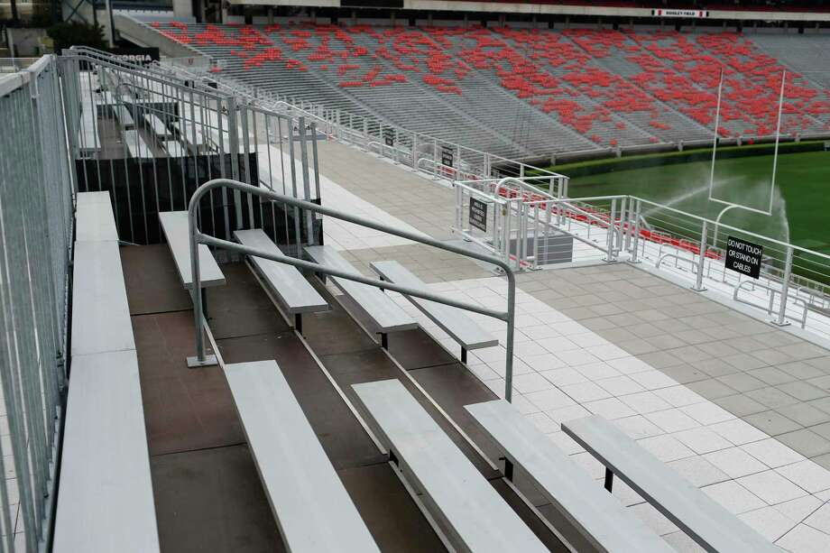 Sanford Stadium at the University of Georgia in Athens, where Batchelor & Kimball installed piping among several major projects the Conyers, Ga. company has undertaken in its home state. Norwalk, Conn.-based Emcor is acquiring Batchelor & Kimball, adding $400 million in annual revenue. (Joshua L. Jones/Athens Banner-Herald via AP) Photo: Joshua L. Jones / Associated Press / Athens Banner-Herald