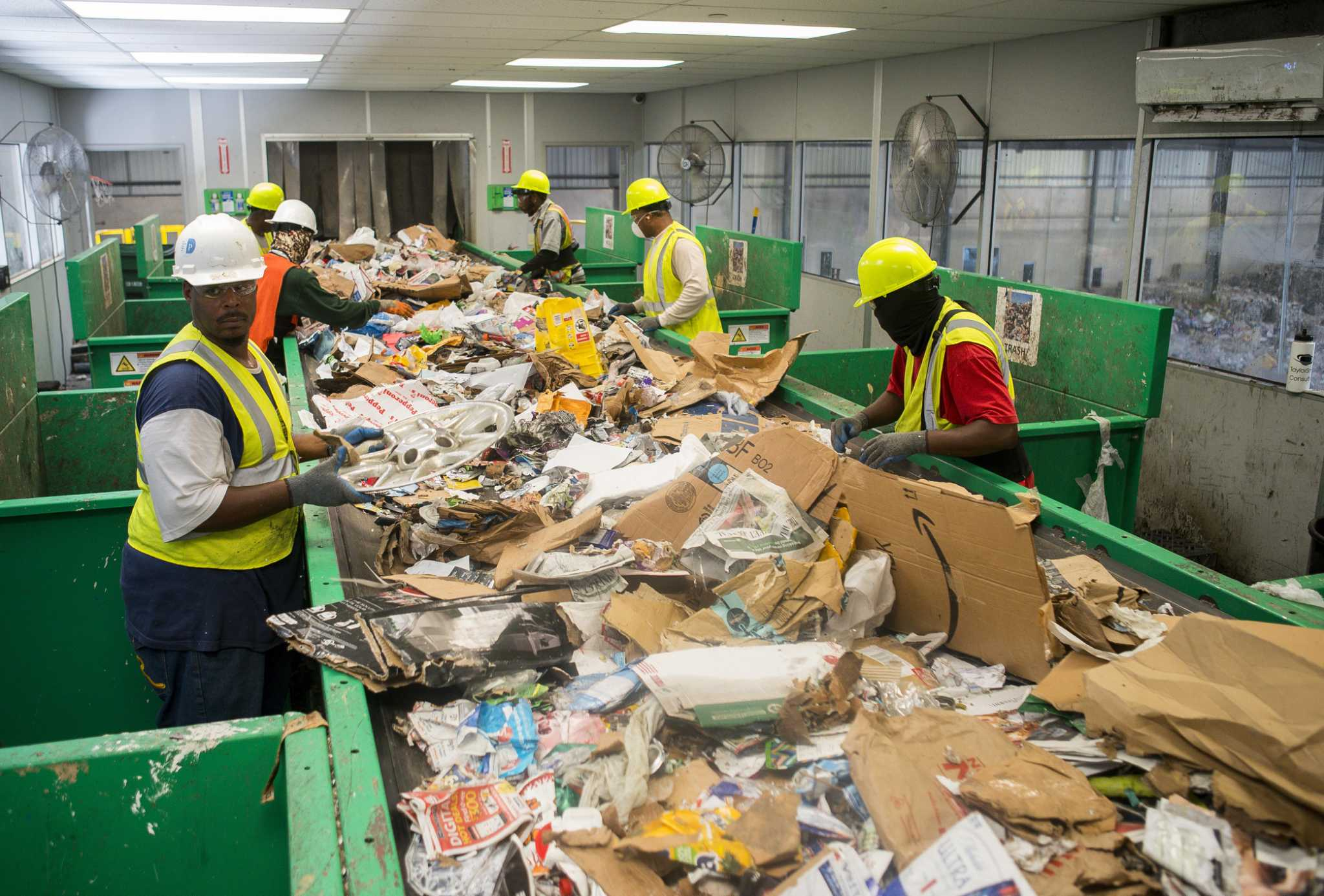 How do you recycle in Houston?